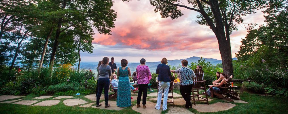 Partner Event Sunset Firepit