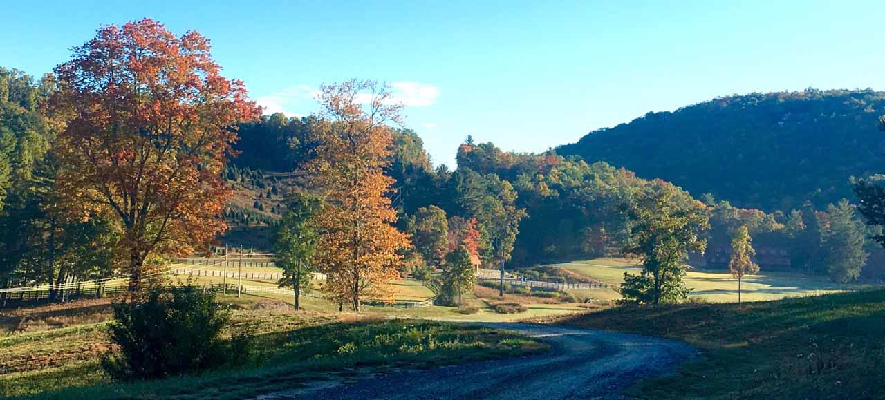 October at the Ranch
